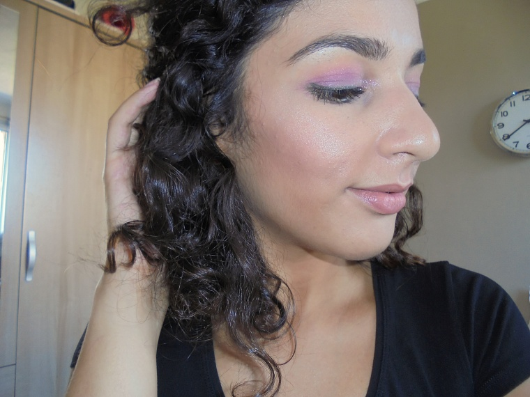 Monday shadow challenge mauve